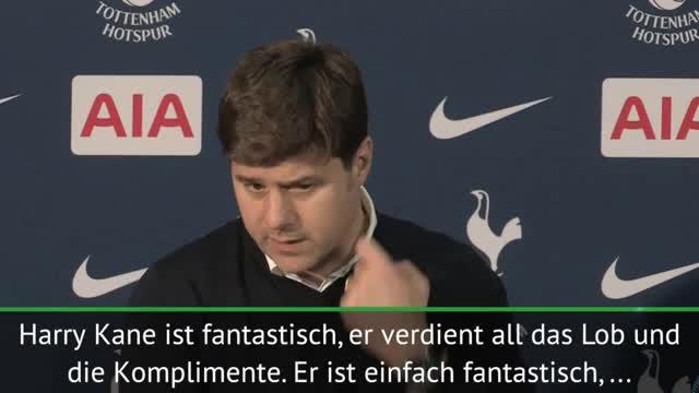 """Pochettino: """"Kane ein fantastischer Spieler"""""""