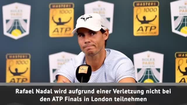 ATP Finals: Verletzt! Nadal sagt London ab