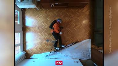 Skifahren in den eigenen vier Wänden