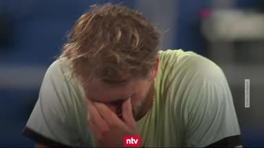 So emotional war Zverevs Sensations-Sieg