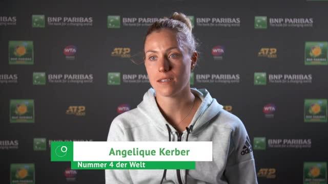"Indian Wells: Kerber: ""Nehme viel Positives mit"""