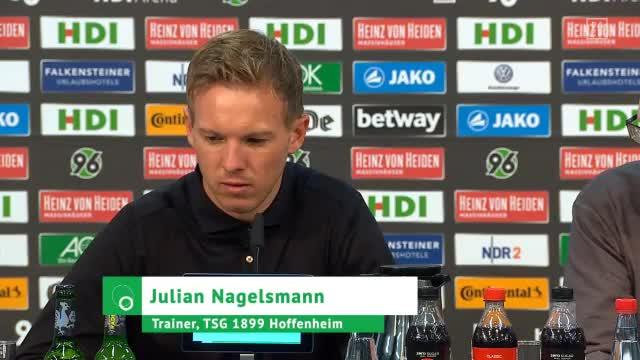 """Nagelsmann gesteht: """"Glücklichere Sieger"""""""