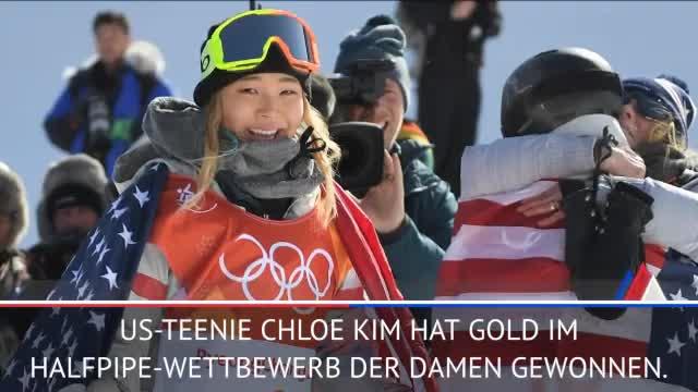 """Olympia: Darum twitterte """"hangry"""" Chloe Kim"""