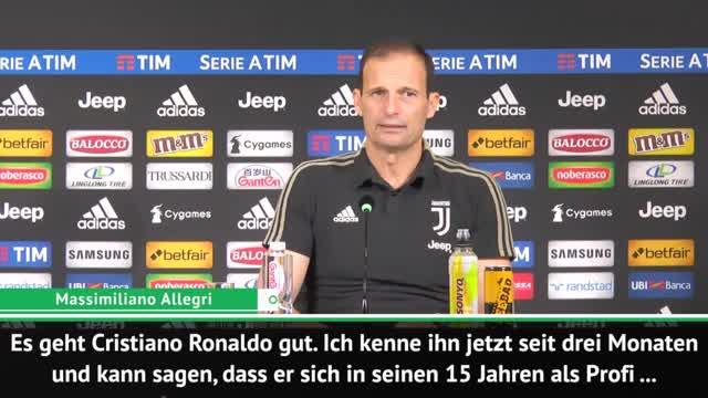 """Allegri sicher: """"Ronaldo für Rückkehr bereit"""""""