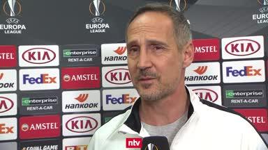 SGE-Coach Hütter rechnet mit hitziger Atmosphäre in Salzburg