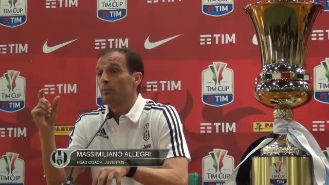 Coppa Italia: Allegri denkt nicht ans Triple