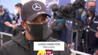 Gerührter Hamilton spricht über seinen Sieg-Rekord