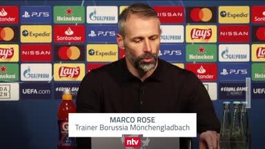 """Rose nach Gladbach-Pleite: """"Waren besser als in Mailand"""""""