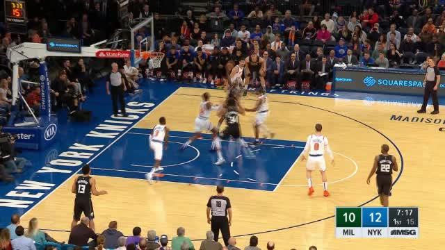 OT! Knicks entthronen Giannis & Bucks im Garden