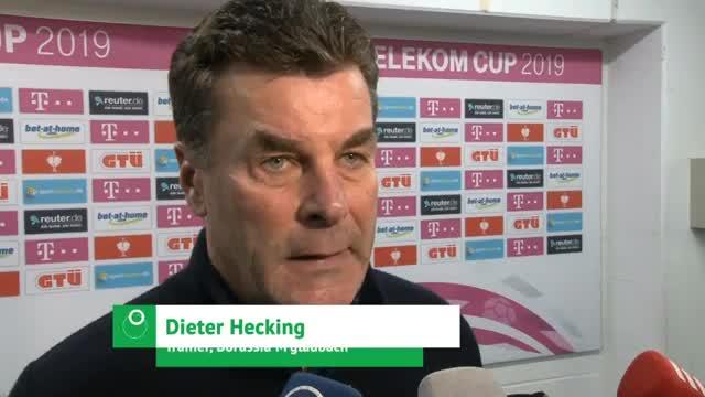 """Vor Auftakt: Hecking """"erwartet Bosz-Fußball"""""""