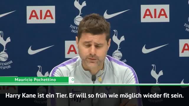 Premier League: Pochettino: Kane-Comeback? Nur ich entscheide