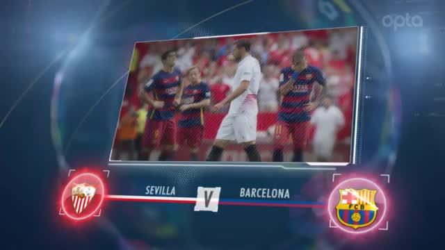 Fünf Fakten vor Sevilla gegen Barcelona