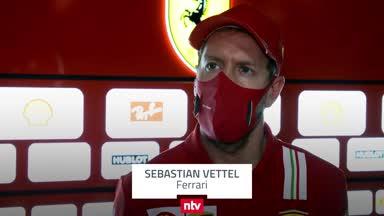 """Vettel kritisiert Ferrari: """"Waren vielleicht etwas zu mutig"""""""