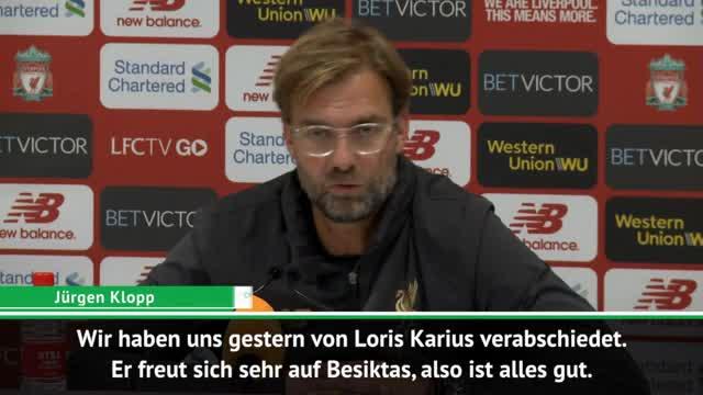"""Klopp zu Karius-Wechsel: """"Freue mich für ihn"""""""