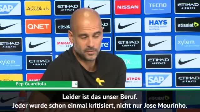 Guardiola verteidigt Mourinho nach Kritik
