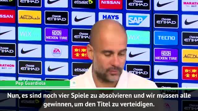 """Guardiola vor Derby: """"Old Trafford nicht einfach"""""""