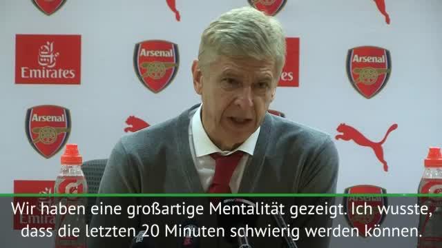 """Wengers Elfmeter-Wutrede: """"Habe es satt"""""""