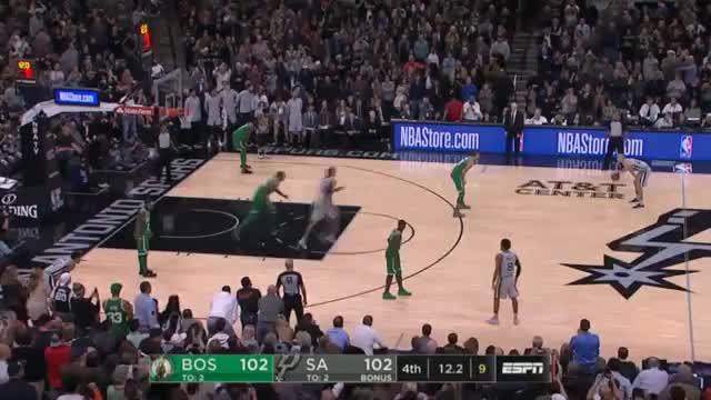 Spurs' Altstar Ginobili versenkt Kyries Celtics