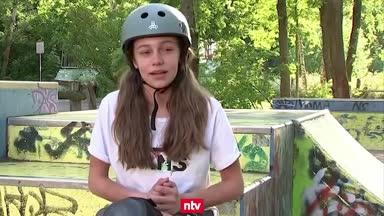 Das ist Deutschlands jüngste Olympia-Teilnehmerin