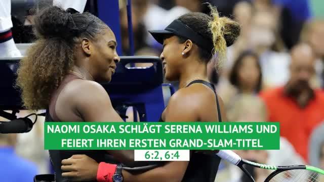 Osaka schlägt Williams in Skandal-Spiel