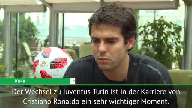 Kaká erklärt: Darum wechselt Ronaldo zu Juventus