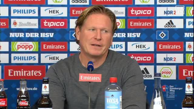 Das sagt Gisdol über HSV-Juwel Fiete Arp