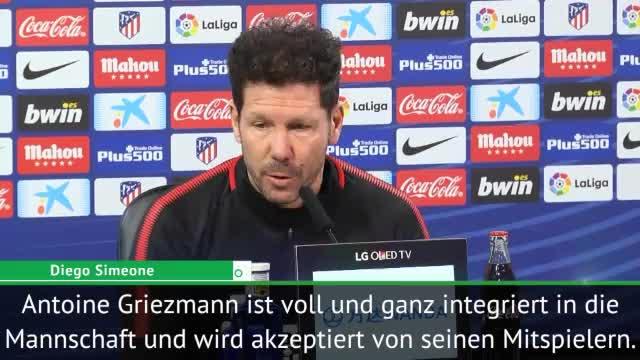 """Simeone: Griezmann-Wechsel? """"Ich vertraue ihm"""""""