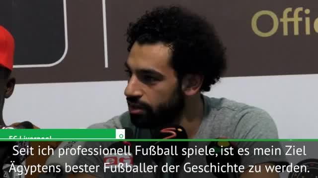 """Salahs Ziel: """"Ägyptens Bester der Geschichte"""""""
