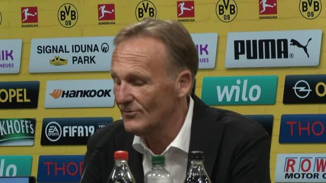 """Watzke zu Kehl: """"Freue mich auf Zusammenarbeit"""""""