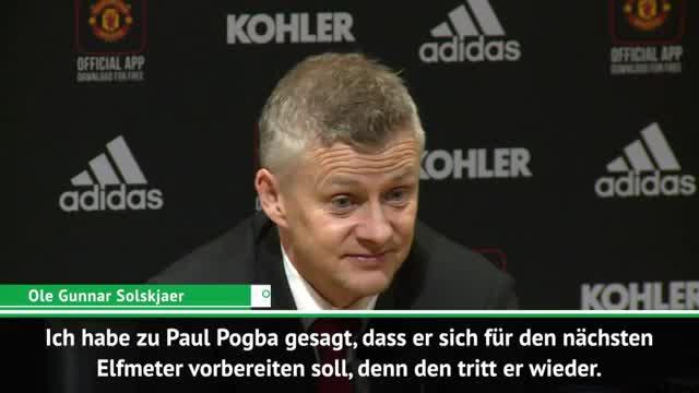 Solskjaer: Rückendeckung für Paul Pogba