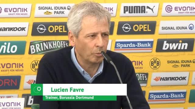 """Favre über BVB-Krise: """"Nach vorne schauen"""""""