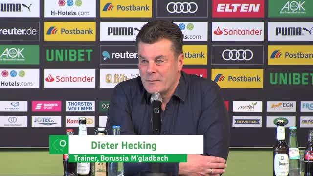 Fohlen-Misere: Hecking verteidigt sein Team