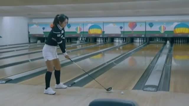 Bowling-Nachhilfe: Strike mit einem Driver