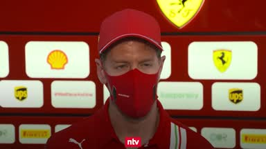 So bewertet Vettel den Freitag in Sochi