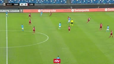 Die Highlights zu SSC Neapel vs. Legia Warschau