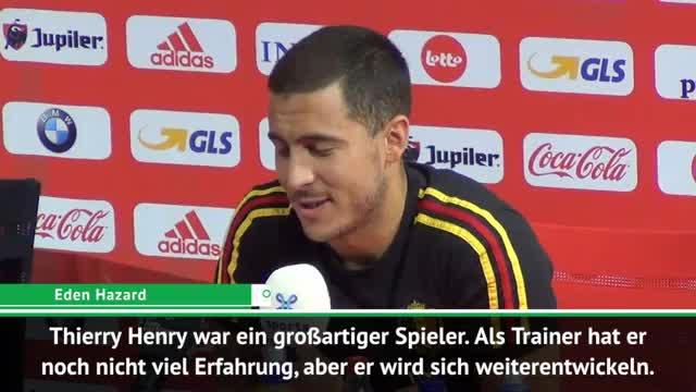Hazard lobt: Henry wird sicher ein Top-Trainer