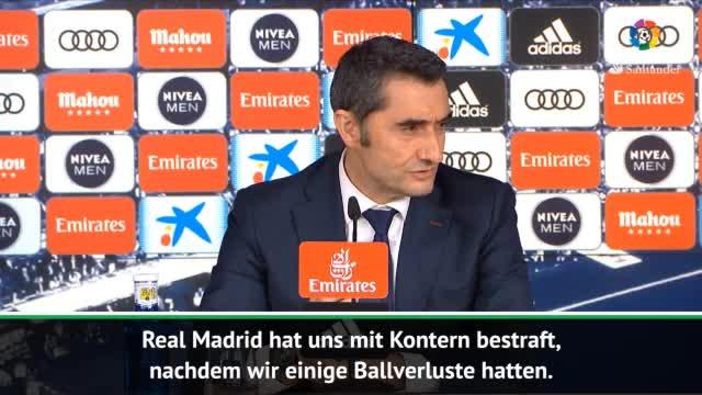 """Valverde nach Suárez-Gala: """"Gibt nicht nur Messi"""""""