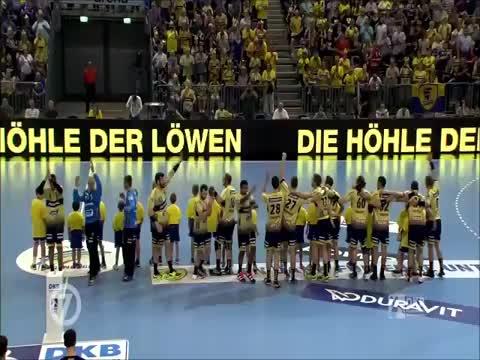 HBL-Highlights: Meisterfeier und Abstiegskampf