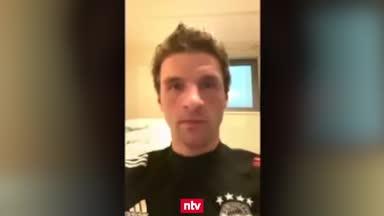 Thomas Müller gibt Einblick in sein Quarantäne-Training