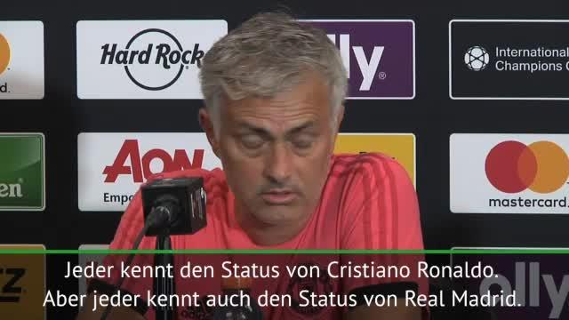 """Mourinho: """"Ronaldo ist nicht größer als Real"""""""
