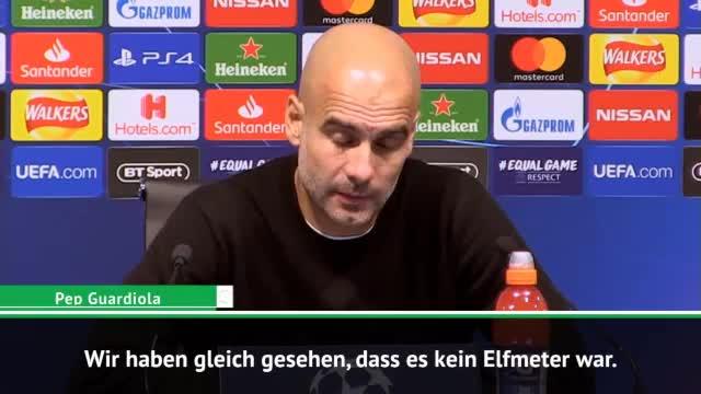 Guardiola zu Sterling-Elfer: Keine Absicht