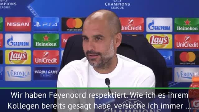"Guardiola: ""City muss Europas Respekt erarbeiten"""