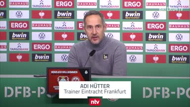 Hütter äußert sich zum Jovic-Comeback in Frankfurt