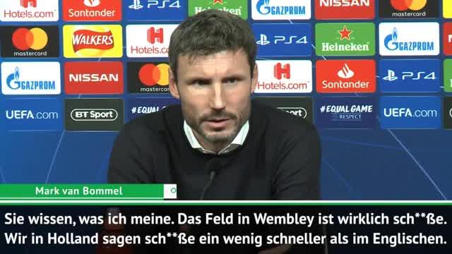 """Klassisch Van Bommel: """"Platz war sch**ße"""""""