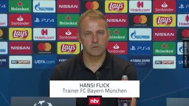 """Hansi Flick nach Bayern-Gala """"sehr, sehr zufrieden"""""""