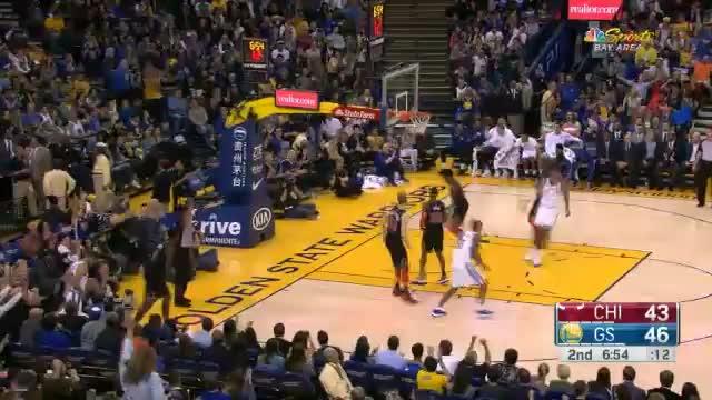 Curry-Gala sorgt für hohen GSW-Sieg über Bulls