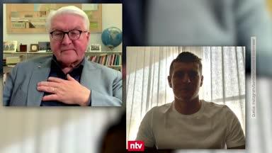 """Kroos im Talk mit Steinmeier: """"Putze meine Schuhe selbst"""""""