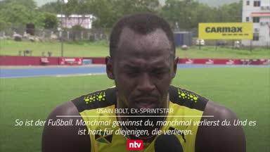Sprint-Star Bolt macht sich für Saka und Co. stark
