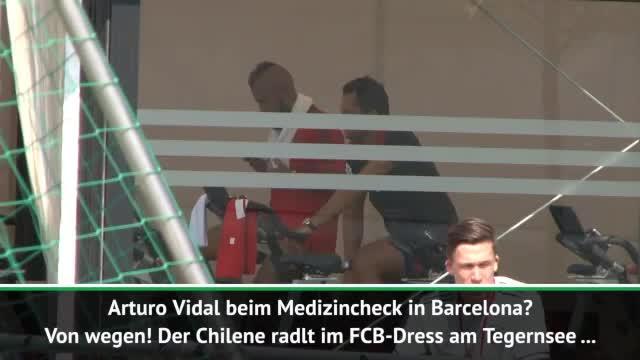 Vidal vor Wechsel? Tegernsee statt Barcelona