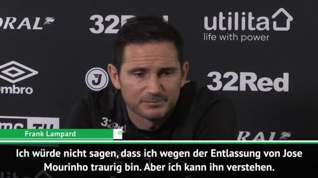 Lampard: Mourinho wird wieder zurückkommen